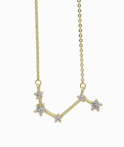 Sternzeichenkette Widder gold ViLou