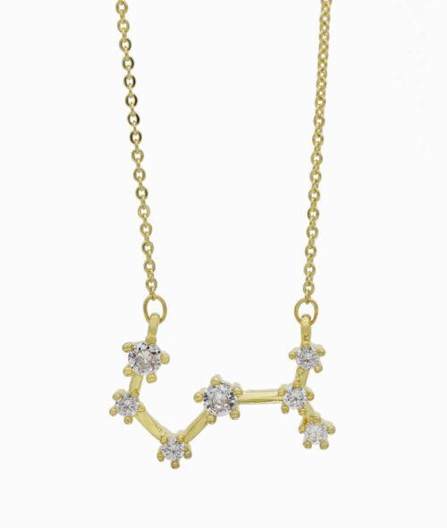 Sternzeichenkette Skorpion gold ViLou 2020