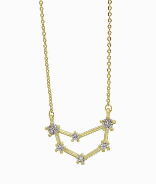 Sternzeichenkette Steinbock gold ViLou neu