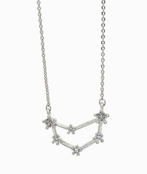Sternzeichenkette Steinbock silber ViLou neu