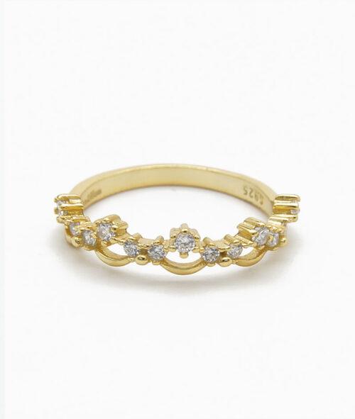 ViLou Ring in Gold Unendlichkeit
