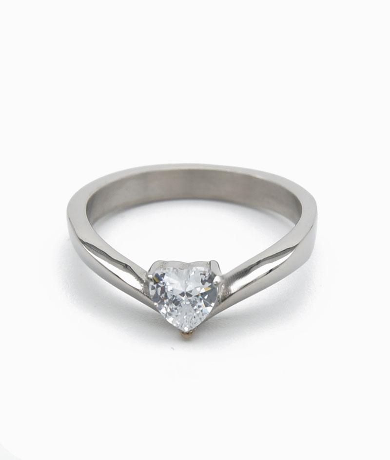 ViLou Ring in Silber mit Herz