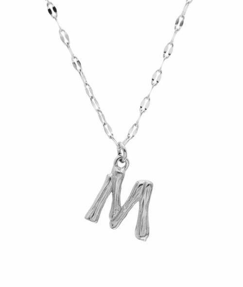 Buchstaben Kette ViLou Schmuck Geschenkidee Jewelry M