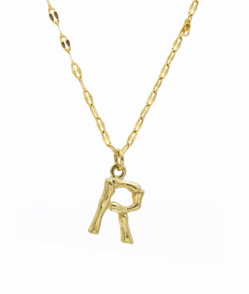 Buchstaben Kette ViLou Schmuck Geschenkidee Jewelry R