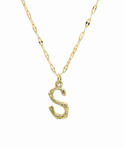 Buchstaben Kette ViLou Schmuck Geschenkidee Jewelry S