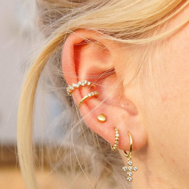 Ohrringe Schmuck ViLou Ear cuffs sterling silver Geschenkidee Jewelry ViLou