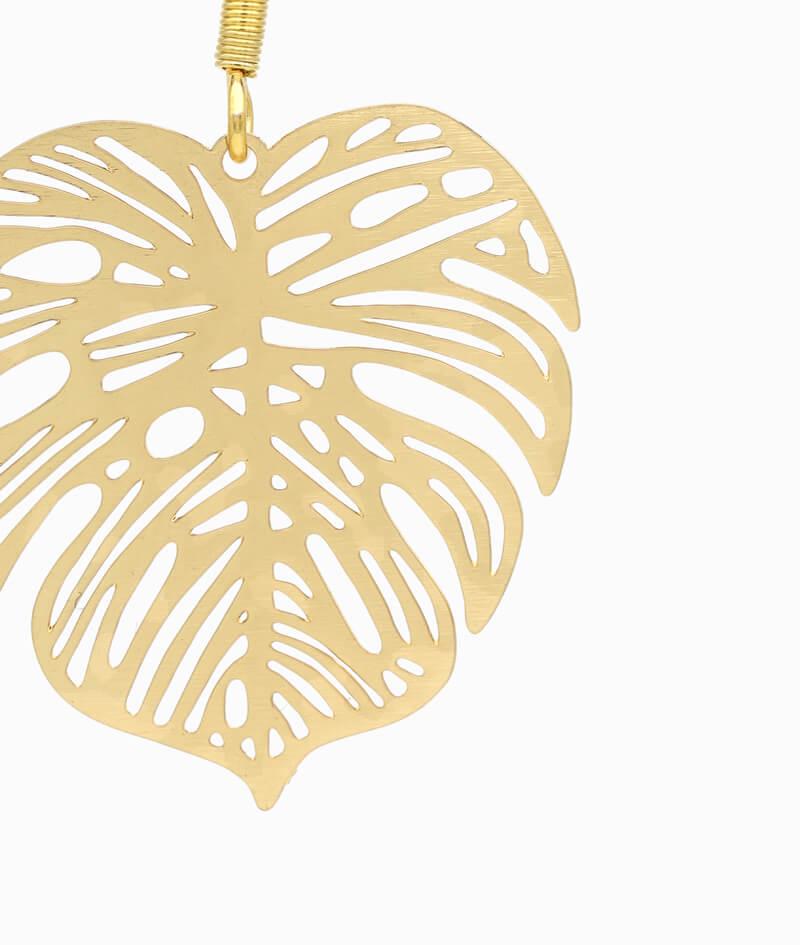 ViLou Schmuck Ohrring Haenge Ohrring gold Edelstahl filigran Geschenkidee Freundin Paar