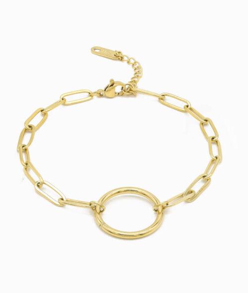 Geschenkidee Freunding Geschenk Frau Schmuck Edestahl gold valentinstag Geburtstag ViLou Jewelry gold vergoldet