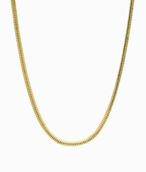 Snake Kette Schlangenmuster Halskette gold ViLou Geschenkidee