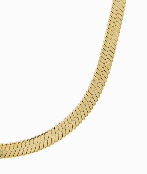 Snake Kette schlangenkette schlangenstil gold choker ketten layering trend vilou