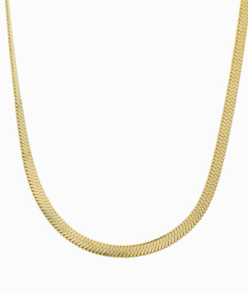 Snake Kette schlangenkette schlangenstil gold choker ketten layering trend vilou ganz