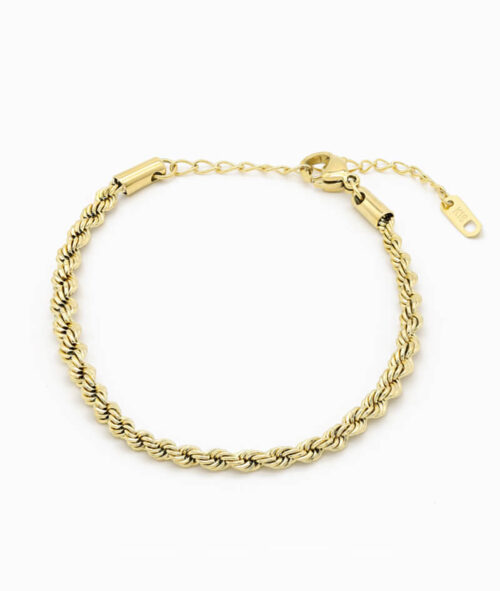 Twisted Armband gold verdreht ViLou