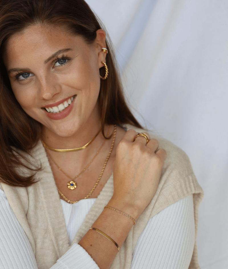 vilou schmuck geschenkidee kette gold perlen snake armband