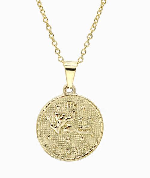 Kette Sternzeichen Jungfrau gold ViLou
