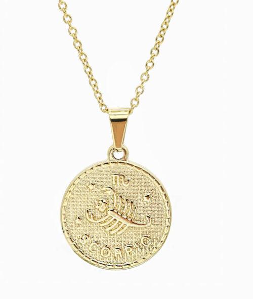 Kette Sternzeichen Skorpion gold ViLou