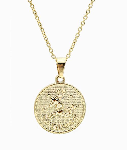 Kette Sternzeichen Steinbock gold ViLou