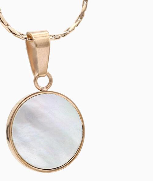 Kette perlmutt rosegold Schmuck Geschenkidee Freundin Frau Vilou Jewelry