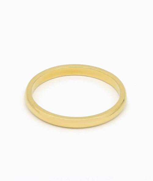 klassischer Ring vilou schmuck gold geschenkidee freundin frau