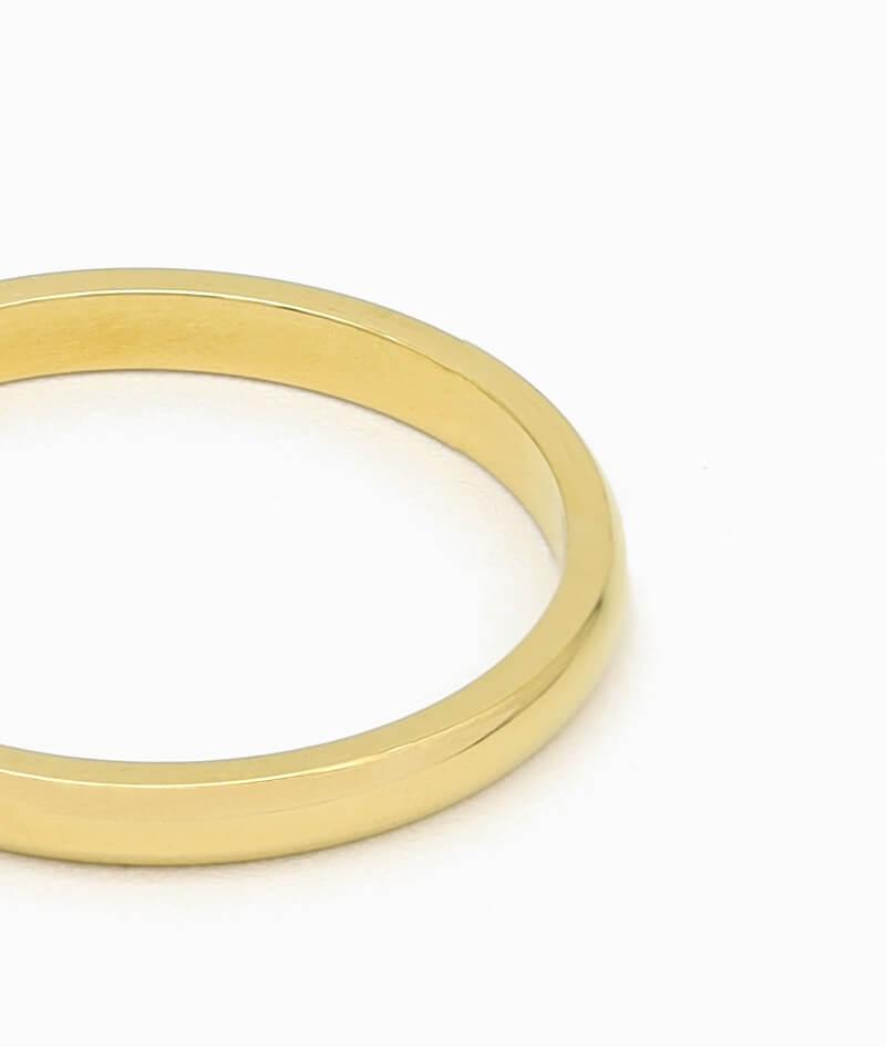 klassischer Ring vilou schmuck gold geschenkidee freundin