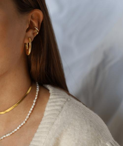 vilou schmuck geschenkidee kette gold perlen schlangenmuster